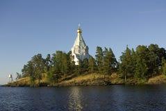 Monasterio de Valaam fotografía de archivo libre de regalías