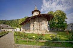 Monasterio de Voronet Imágenes de archivo libres de regalías