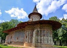 Monasterio de Voronet Fotos de archivo libres de regalías