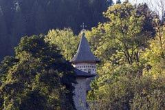 Monasterio de Voronet, Rumania Imagen de archivo libre de regalías