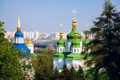 Monasterio de Vydubitsky Fotos de archivo libres de regalías
