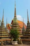 Monasterio de Wat Pho en Bangkok - Tailandia imagen de archivo libre de regalías
