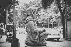 Monasterio de Wenshu, Chengdu, China Fotos de archivo libres de regalías