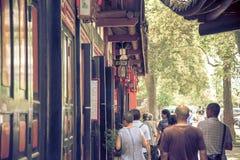 Monasterio de Wenshu, Chengdu, China Imagenes de archivo