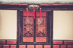 Monasterio de Wenshu, Chengdu, China Foto de archivo libre de regalías