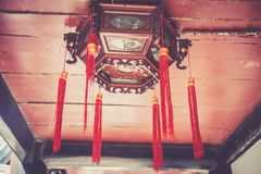 Monasterio de Wenshu, Chengdu, China Imágenes de archivo libres de regalías