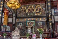 Monasterio de Wenshu, Chengdu, China Imagen de archivo libre de regalías