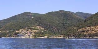Monasterio de Xenophontos Imagen de archivo