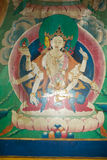 Monasterio de Yiga Choeling, Darjeeling, la India Foto de archivo libre de regalías