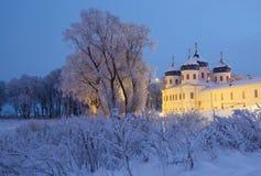 Monasterio de Yuriev Imagenes de archivo