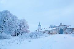 Monasterio de Yuriev Foto de archivo libre de regalías