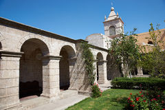Monasterio Del Carmen Stock Image