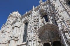 Monasterio del Hieronymites en Lisboa portugal Fotografía de archivo libre de regalías