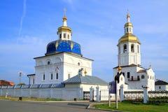 Monasterio del hombre de Abalaksky Piously-Znamensky Fotografía de archivo