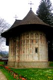 Monasterio del humor, Moldavia, Rumania Fotografía de archivo