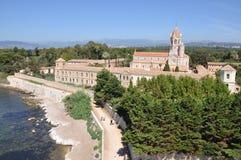 Monasterio del Lérins Abbey France Foto de archivo