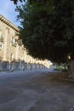 Monasterio del ² L arena de Benedettini di San Nicolà del ` Fotos de archivo