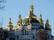 Monasterio del laurel en Kiev Fotos de archivo libres de regalías