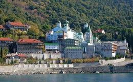 Monasterio del ruso de Panteleimonas del santo Fotografía de archivo