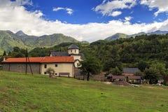Monasterio del ` s de Moraca, Montenegro fotos de archivo