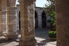Monasterio del santo Catherine Spanish: Santa Catalina en Arequipa Perú, es monasterio de monjas de la orden de Domincan segundo  fotos de archivo libres de regalías