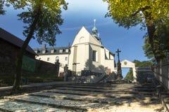 Monasterio del St Anna Basilica Franciscan de la montaña Fotos de archivo libres de regalías