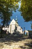 Monasterio del St Anna Basilica Franciscan de la montaña Foto de archivo