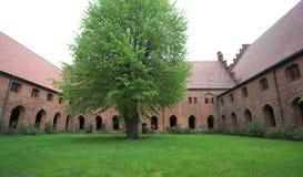 Monasterio del Vor Frue, un monasterio carmelita en Elsinore Helsing Fotografía de archivo