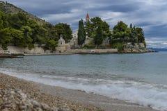 Monasterio dominicano viejo, Bol, isla de Brac, Croacia Imágenes de archivo libres de regalías