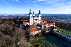 Monasterio e iglesia de Camaldolese en Bielany, Cracovia, Polonia Fotos de archivo libres de regalías
