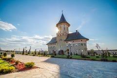 Monasterio el Moldavia Rumania Imagen de archivo
