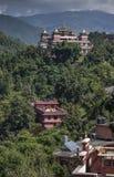 Monasterio el valle de Katmandú Nepal de Kopan Foto de archivo libre de regalías