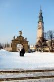 Monasterio en Czestochowa Fotografía de archivo libre de regalías