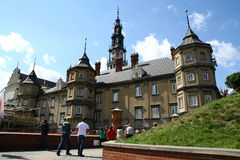 Monasterio en Czestochowa Foto de archivo libre de regalías