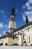 Monasterio en Czestochowa Imágenes de archivo libres de regalías