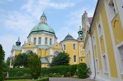 Monasterio en Gostyn 2 Fotografía de archivo