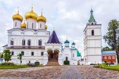 Monasterio en Kostroma, Rusia de Ipatiev Foto de archivo libre de regalías