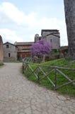 Monasterio en la colina de Palatine, Roma imagen de archivo