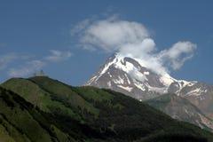 monasterio en la montaña Foto de archivo