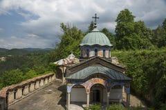 Monasterio en la montaña Fotografía de archivo libre de regalías