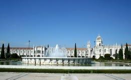 Monasterio en Lisboa Imágenes de archivo libres de regalías