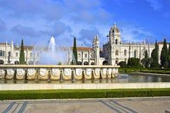 Monasterio en Lisboa, Portugal Imagen de archivo libre de regalías
