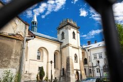 Monasterio en Lviv Foto de archivo
