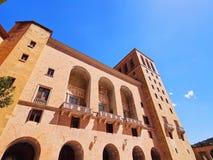 Monasterio en Montserrat, España Fotografía de archivo libre de regalías