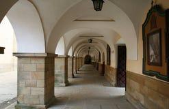 Monasterio en Polonia Foto de archivo libre de regalías