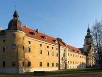 Monasterio en Polonia Imágenes de archivo libres de regalías