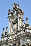 Monasterio en Santiago de Compostela, España fotos de archivo