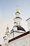 Monasterio en Tomsk Fotos de archivo libres de regalías