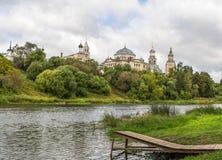 Monasterio en Torzhok Imagen de archivo libre de regalías