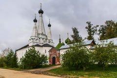Monasterio en Uglich Fotos de archivo libres de regalías